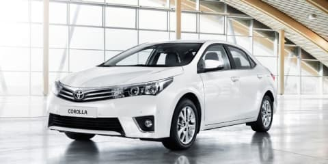 2014 Toyota Corolla sedan unveiled