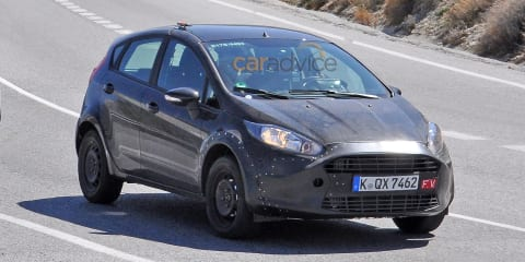 Ford Fiesta spy photos may be of an early Fiesta RS prototype