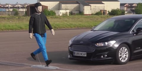 EuroNCAP introduces tests for autonomous braking systems with pedestrian detection