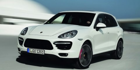 2013 Porsche Cayenne Turbo S: 405kW super-SUV here in February