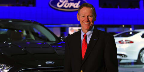 Ford executive shuffle: Mulally to lead until 2014; Fields waiting in the wings