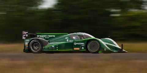 Drayson Racing EV sets 328km/h land speed record