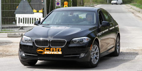 2011 BMW 5 Series Hybrid spy photos