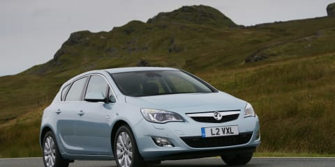 New Vauxhaul Astra takes to UK roads