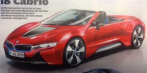 BMW i8 Cabrio: revealed
