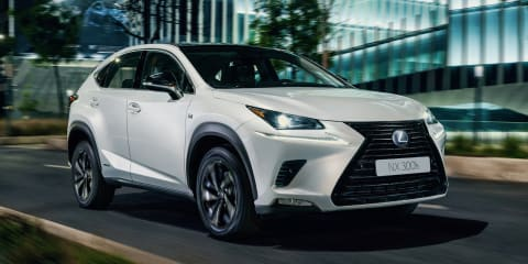 Lexus NX Sport revealed, not for Australia