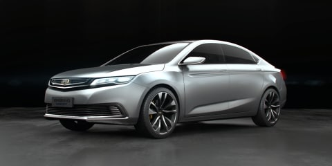 Geely Emgrand Concept unveiled in Shanghai