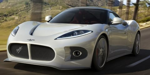 Spyker B6 Venator Spyder on the way