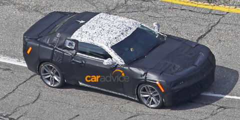 2016 Chevrolet Camaro spied for the first time