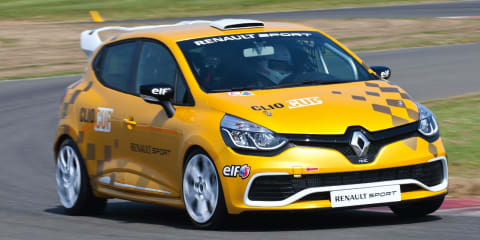 Renault Clio Cup revealed ahead of 2014 racing season