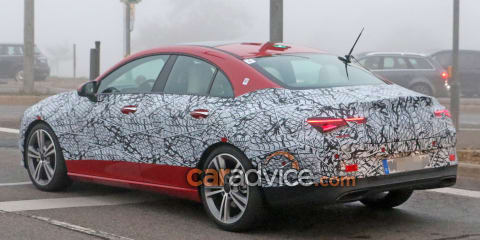 2019 Mercedes-Benz CLA spied inside and out