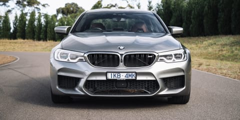 BMW M5, Mercedes-AMG E63 S, Porsche Panamera head-to-head - video