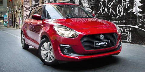 Suzuki Swift GL Navigator manual announced