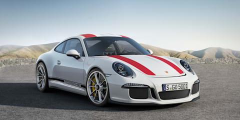 Porsche 911 R unveiled at Geneva motor show