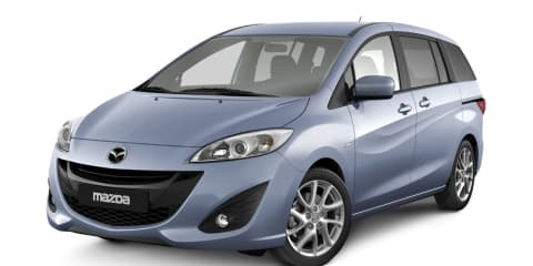 Mazda5 unveiled at Geneva