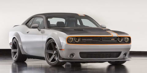 2017 Dodge Challenger ADR:: wide-body Hellcat coupe in the works - report