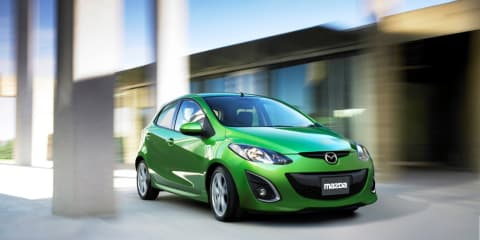 Mazda2 platform to be used for electric vehicle test project