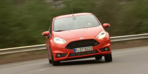 Ford Fiesta ST gets sideways in Lommel Proving Grounds: video