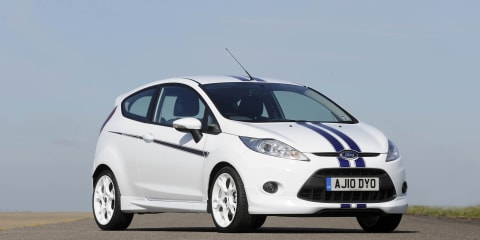 Ford Fiesta S1600 special edition launched in UK
