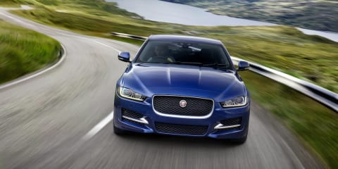 Jaguar XE :: AWD on the way; V8, electric supercharging on the table
