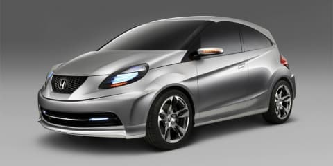 Honda New Small Concept unveiled at India's Auto Expo