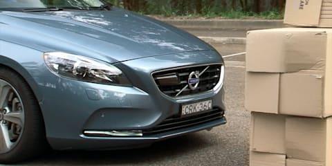 Volvo V40 Safety Video Review