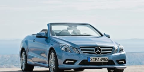 2010 Mercedes E-Class revealed before NAIAS