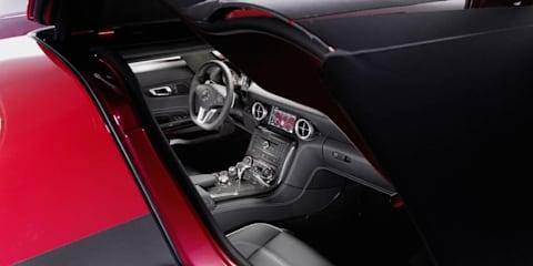 2010 Mercedes-Benz SLS AMG interior revealed