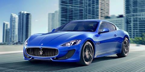 2013 Maserati GranTurismo Sport for Australia in late 2012