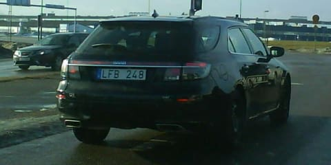 2011 Saab 9-5 SportCombi spotted on public streets
