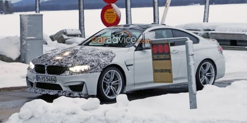2018 BMW M4 facelift spied in Sweden
