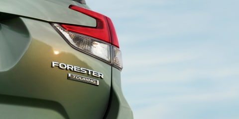 2019 Subaru Forester teased again