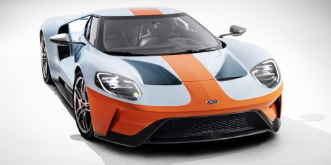 2019 Ford GT Heritage Edition revealed