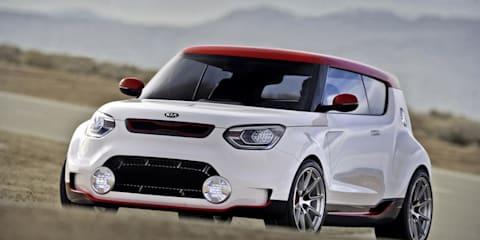Kia Track'ster concept shows off sporty edge