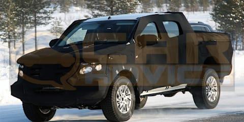 2011 Ford Ranger spy photos