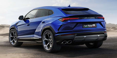 2018 Lamborghini Urus revealed
