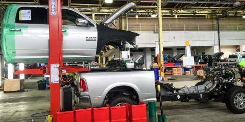 Ram Trucks Australian conversion facility, behind-the-scenes tour