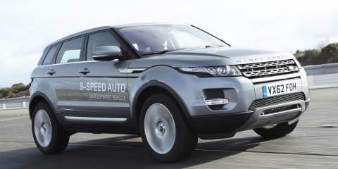 Range Rover Evoque to debut world's first nine-speed auto