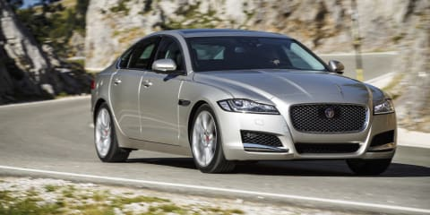 2016 Jaguar XF launches in Spain