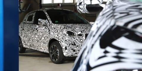 Smart ForFour :: second-gen city car seen for first time
