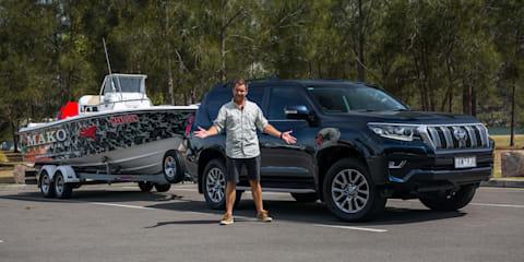 2018 Toyota LandCruiser Prado Kakadu towing review