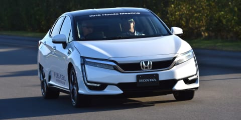 Honda and GM to build joint venture hydrogen fuel cell factory - report