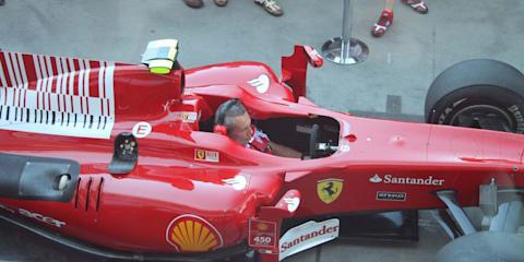 Ferrari F1 Team – Pit pass