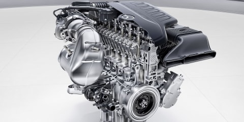Mercedes-Benz returns to the straight six, debuts new I4 and V8 motors