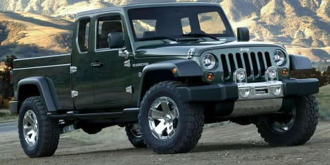 Jeep Wrangler ute to be called 'Gladiator'