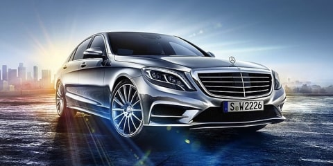 Mercedes-Benz S-Class exterior image leaked