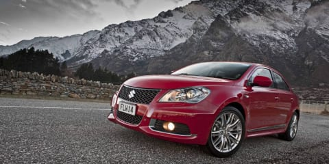 Suzuki Kizashi Sport AWD launched