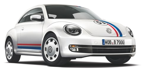 Volkswagen Beetle 53 Edition brings Herbie back to life