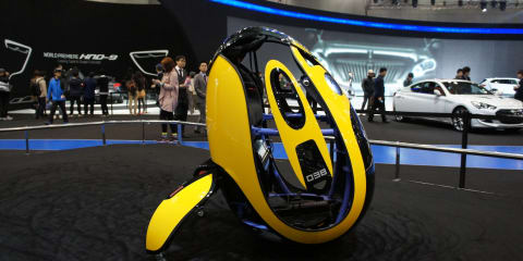 Hyundai E4U: individual transport 'egg' revealed in Seoul