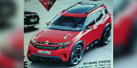 Citroen Aircross concept teased and then leaked